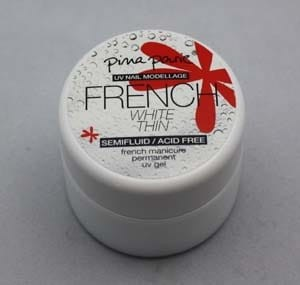 French Gel White Thin 15g