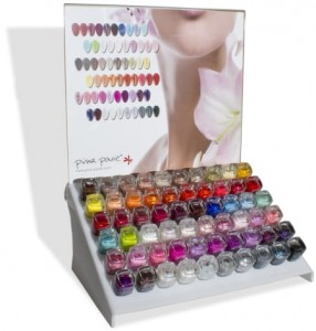 Acrylic Dispalay Nail Polish Mini
