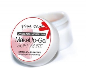 Flexible MakeUp Gel Soft White 50g