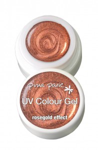 Colour Gel 5g Rosegold Effect