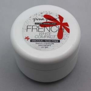 French Gel White Compact 50g