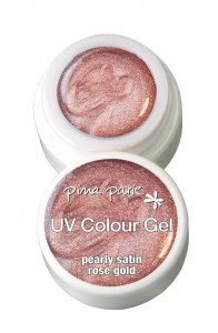 Colour Gel 5g Pearly Satin Rose Gold